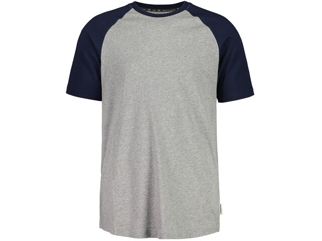 Maloja FadreinM. T-Shirt Homme, grey melange/night sky